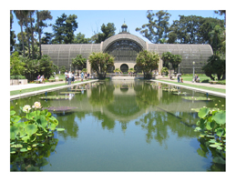 A conservatory in Balboa Park, San Diego, from The best things to do in San Diego: http://www.pacific-coast-highway-travel.com/San-Diego-Things-To-Do.html
