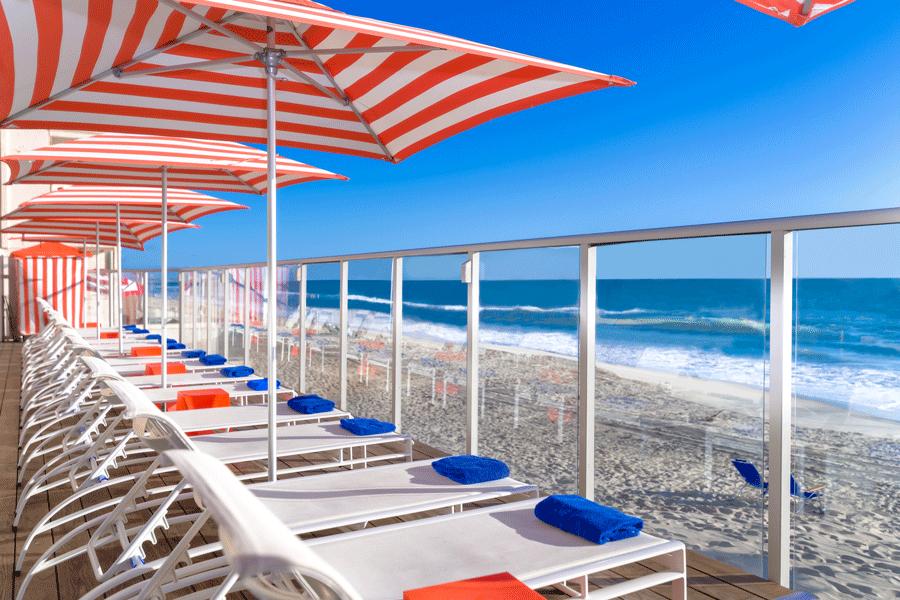 Beach Terrace Inn, Carlsbad, California beach hotel