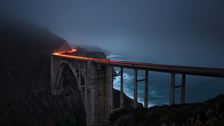 Bixby Bridge in Big Sur in California