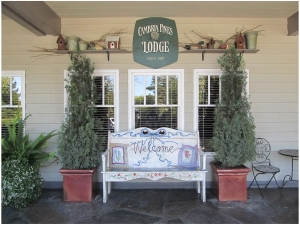 Welcome to Cambria Pines Lodge in Cambria on the Pacific Coast Highway in California. Photo (c) Donna Dailey from http://www.pacific-coast-highway-travel.com/Cambria-Lodging.html