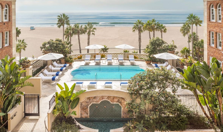 Casa del Mar, Santa Monica, California beach hotel