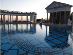 Hearst Castle Evening Tours are brilliant! Photo (c) Donna Dailey pinned from https://www.pacific-coast-highway-travel.com/Hearst-Castle-Evening-Tours.html