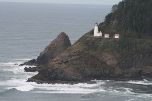 Heceta Head Lighthouse Photo by Donna Dailey