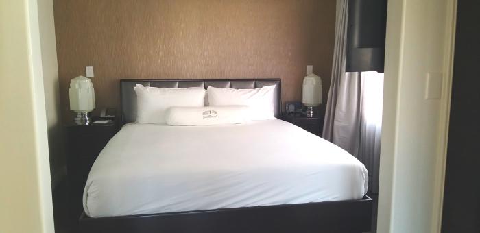 Hotel Shangri-La in Santa Monica, California.