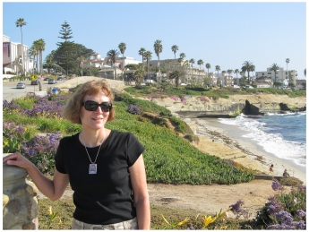 Donna Dailey in La Jolla, California, photo (c) Mike Gerrard