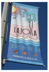 Sign in La Jolla, California, photo (c) Donna Dailey, from http://www.pacific-coast-highway-travel.com/La-Jolla.html