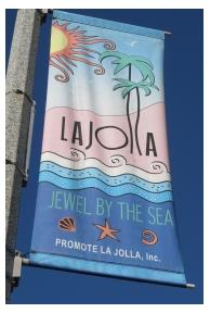 Sign in La Jolla, California, photo (c) Donna Dailey, from http://www.pacific-coast-highway-travel.com/La-Jolla.html