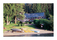 Lake Quinault Lodge, near the Olympic National Park