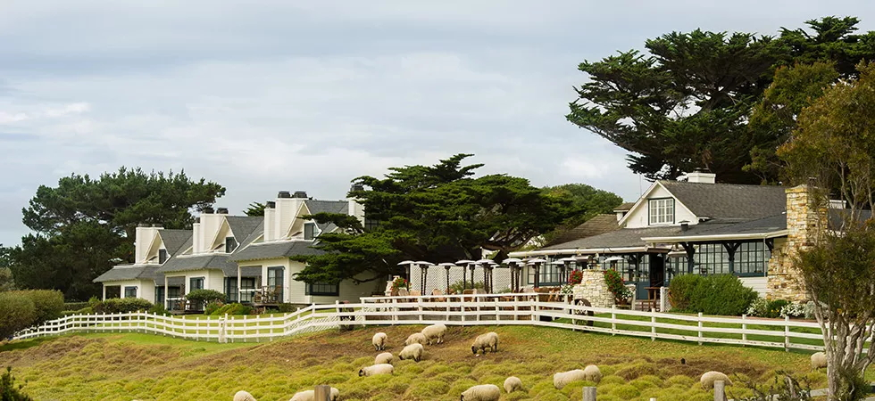 Where to Stay in Carmel: The Mission Ranch. Repinned from https://www.pacific-coast-highway-travel.com/Where-to-Stay-in-Carmel.html