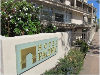 Monterey Boutique Hotel: Hotel Pacific