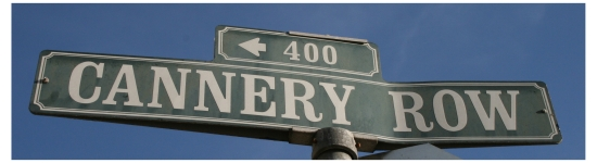 Cannery Row road sign in Monterey, California, photo (c) Donna Dailey from https://www.pacific-coast-highway-travel.com/Cannery-Row-Monterey.html