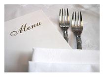 Los Angeles Top Tables Restaurant Menu