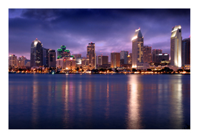 The San Diego Skyline