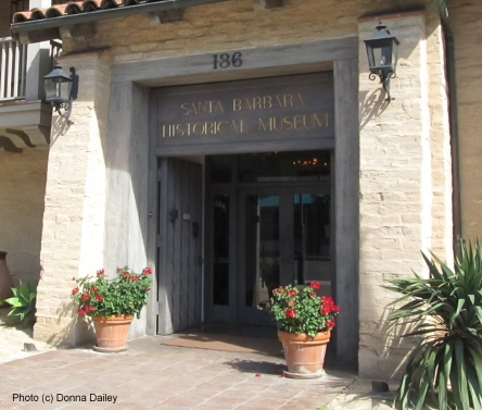 Santa Barbara Historical Museum, photo (c) Donna Dailey, pinned from http://www.pacific-coast-highway-travel.com/Santa-Barbara-Historical-Museum.html