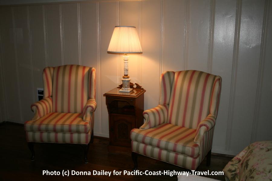 Our room at The Vagabond's House Inn in Carmel-by-the-Sea, California