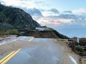 The Dramatic Gap in the Pacific Coast Highway