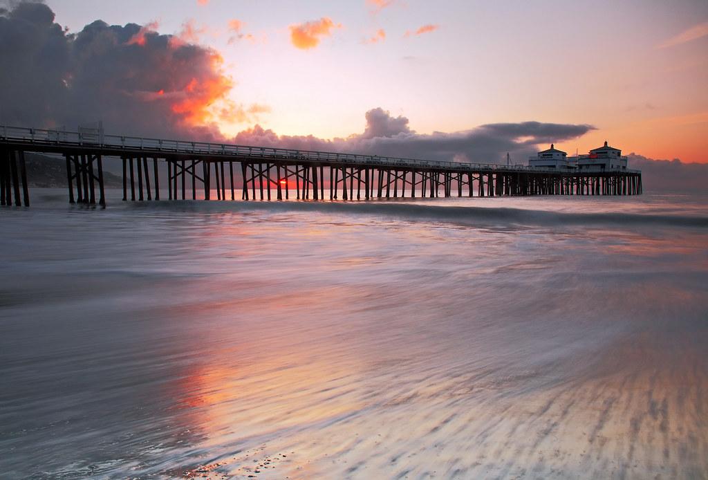 Malibu Pier in Malibu, California