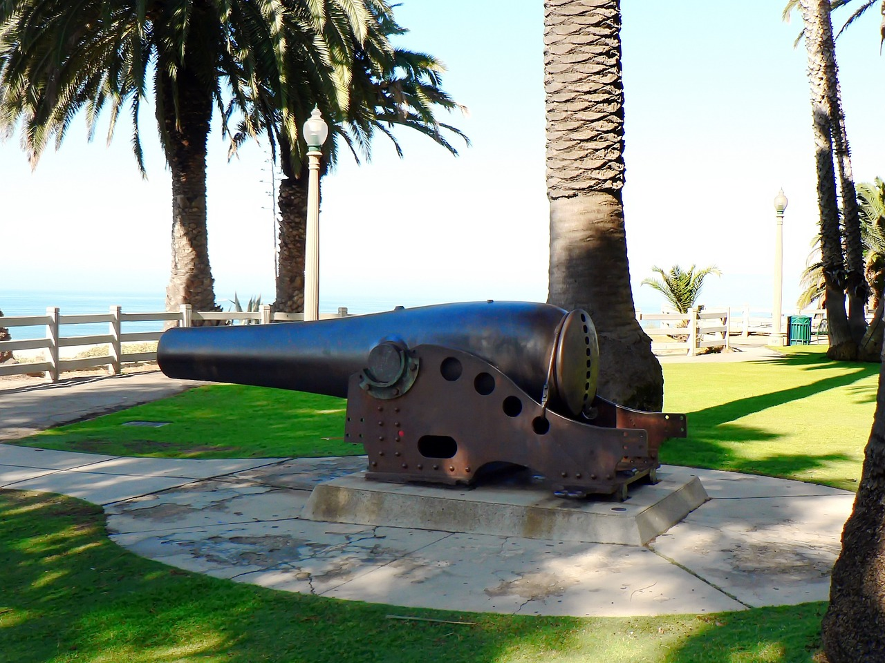 Cannon on the Santa Monica Waterfront