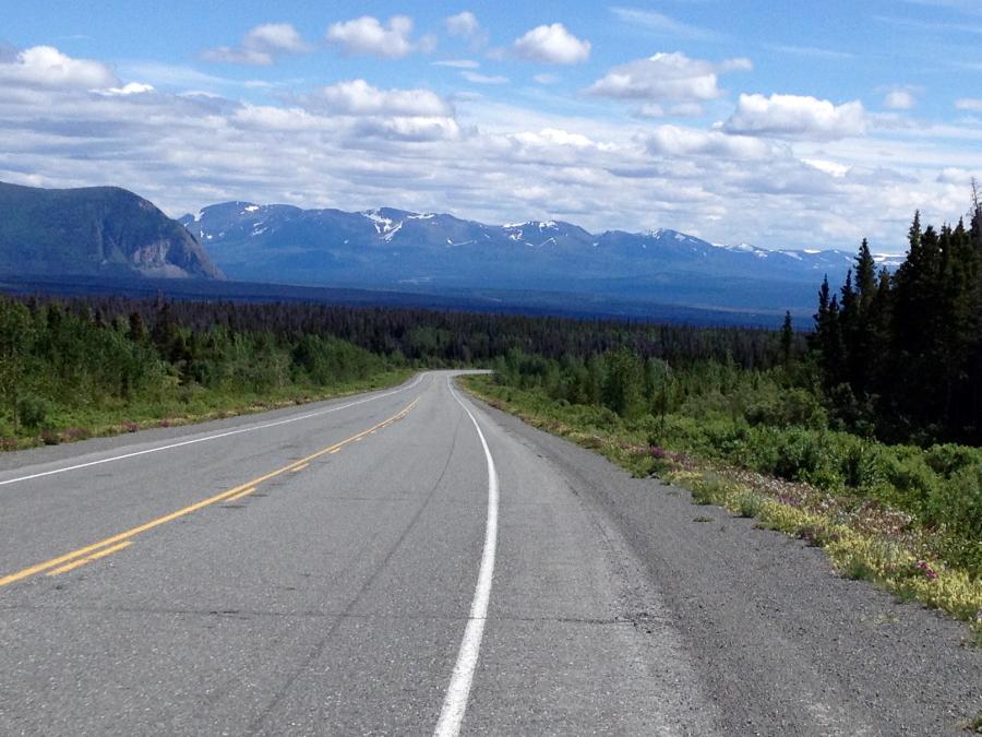 An endless road