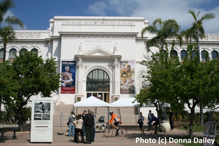 The Natural History Museum in Balboa Park, San Diego, California