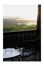 Bodega Bay Lodge and Spa View from Balcony