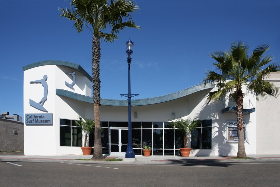 The California Surf Museum in Oceanside, southern California