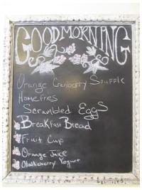 Breakfast at the Olallieberry Inn