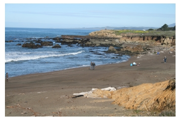 Moonstone Beach in Cambria, California, one of the Best Beaches in California