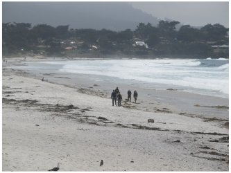 Carmel Beach in California, one of the Best Beaches in California