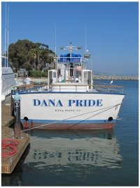 Dana Point whale-watching boat the Dana Pride, photo (c) Donna Dailey, from https://www.pacific-coast-highway-travel.com/Dana-Point.html