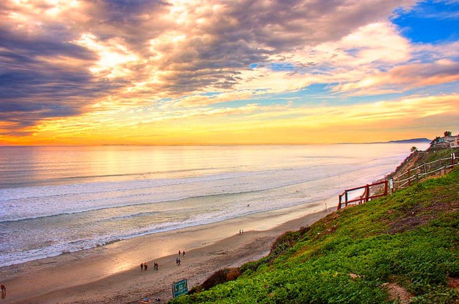 The Pacific Ocean from Encinitas