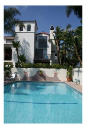 Franciscan Inn, Santa Barbara, Heated Outdoor Pool