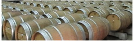 Barrels on a Wine tasting tour at JUSTIN Vineyards in Paso Robles, photo (c) Donna Dailey from https://www.pacific-coast-highway-travel.com/Paso-Robles-Wine-Tours.html