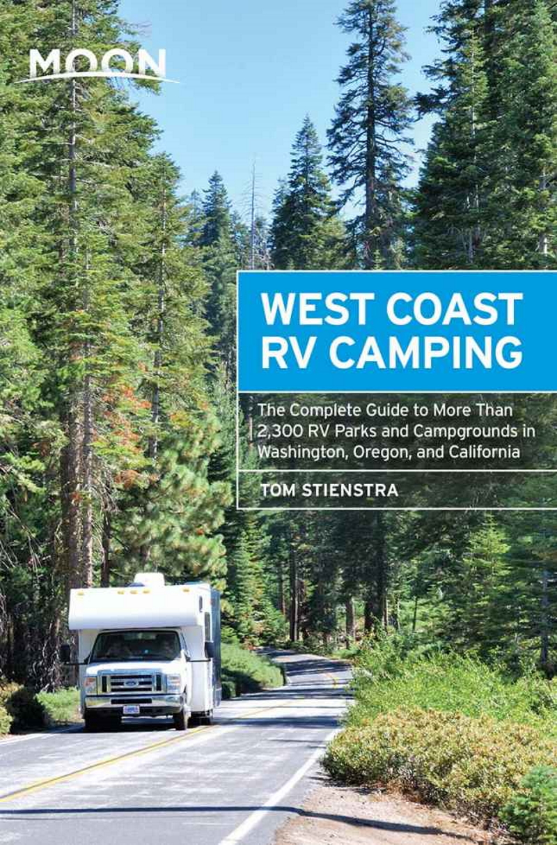 The cover of Moon's West Coast RV Camping Guidebook