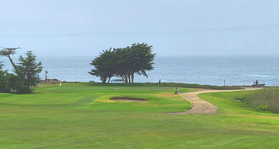 Pacific Grove Golf Links on the Pacific Coast Highway.