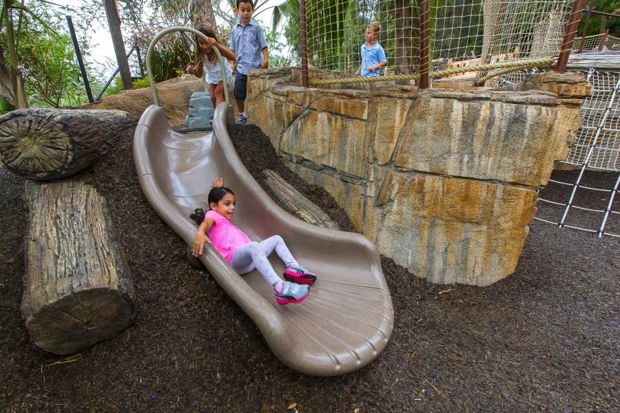 Children's playground at the San Diego Zoo Safari Park