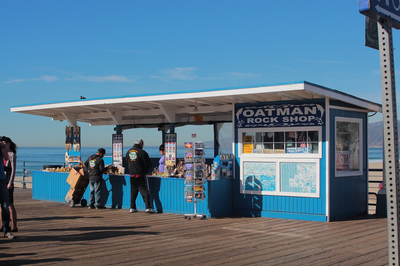 Rock Shop on Santa Monica Pier