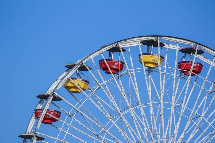 The Ferris Wheel on Santa Monica Pier