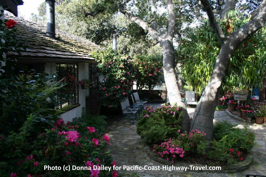 The Vagabond's House Inn in Carmel-by-the-Sea, California