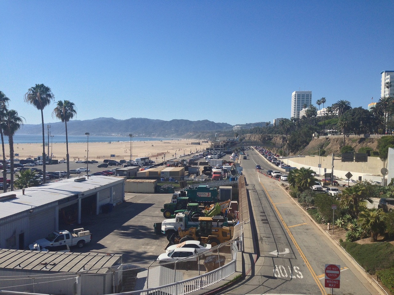Santa Monica and the Pacific Coast Highway